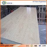 cara de la melamina de la base del álamo de 1220*2440*12m m/madera contrachapada laminada posterior (espesor de 2.5m m a de 25m m)