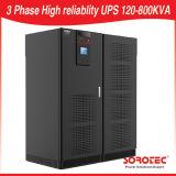 Grande UPS em linha para 120kVA a 800kVA