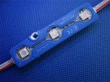 점화 표시를 위한 IP68 5050 3LEDs 주입 LED 모듈