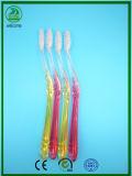 Super schöne transparente Griff-Farbe innerhalb der erwachsenen Zahnbürste