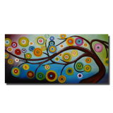 거실 Home Decoration Wholesaler를 위한 Canvas Decorative Painting에 큰 Modern Abstract Tree Oil Painting