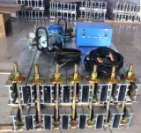 新型ゴム製コンベヤーベルトの共同加硫の機械装置