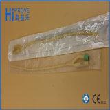 Cathéter de Foley en latex revêtu de silicone à haute qualité de 2 voies ou 3 voies 100%