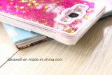 싼 새로운 도착 PC Samsung 은하 A3/A5/A7 유사 전화 상자를 위한 액체 별 모래 셀룰라 전화 상자