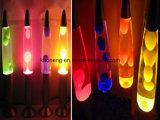 Regalo de Navidad Colorchangable Lámpara de lava, Rocket Lámpara de lava, lava Rocket Luz