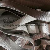 De aluminium-folie Met een laag bedekte Band van de Isolatie van de Glasvezel