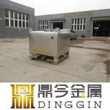 Квадратный контейнер жидкости стали 500L IBC