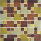 2017 fresco y refrescante mosaico de vidrio
