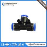 Ajustage de précision de tube convenable en laiton pneumatique hydraulique hydraulique d'embout de durites