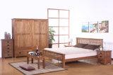 سرير صلبة خشبيّة [دووبل بد] حديثة ([م-إكس2244])