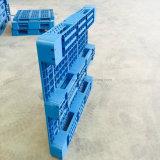 Het dubbel zag Nieuwe Materiële HDPE van 100% Plastic Pallet met Antislip onder ogen