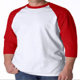Commerce de gros Pre-Shrunk Raglan T-Shirt