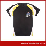 Fabricante curto personalizado das camisas do esporte T da luva (R58)