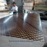 El contrachapado marino marrón/negro Film enfrenta la madera contrachapada 9*1200*1800mm
