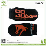 Trampolim personalizados antiderrapagem peúgas, meias com logotipo de aderência