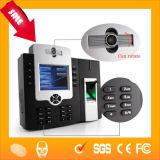 Считыватель отпечатков пальцев Hf-Iclock800 камеры времени карточки для пробивания отверстий