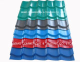 長い石が付いているスパンによって着色された亜鉛アルミニウムTrapeziumの屋根ふきの鋼板の屋根ふきシートは塗った