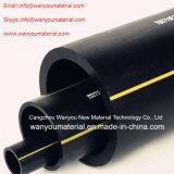 Tubo de plástico - Tubo de transporte de gás PE sólido