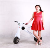 """12 """"Smart City Walking Vélo électrique Mini voiture pliante électrique Vélo électrique Motocyclette électrique pliante Moto électrique"""