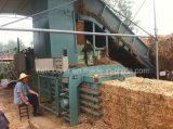 6t/h Enfardadeira de fardos de palha automática hidráulica máquina de reciclagem