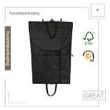 Il commercio del poliestere che appende il vestito pieghevole copre il sacchetto di indumento