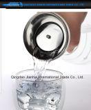 ステンレス鋼のふたが付いている熱販売の飲料水のガラス水差し