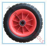 rotella del carrello del vagone del pneumatico della gomma piuma dell'unità di elaborazione 10X3.50-6
