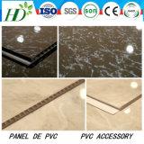 7.5*250mm de largura Hot-Stamping Painel de PVC forro de PVC do painel da parede de PVC decoração Material impermeável de instrumentos
