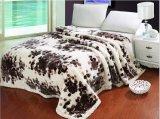 Фабрика Кита Raschel оптовой домашней норки тканья Blanket/одеяло Raschel