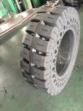 O Forklift contínuo monta pneus 8.15-15 pneus não de marcação do Forklift brancos