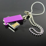 Mini flash del USB de la alta calidad con Keychain 1GB a 128GB