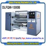 Высокая скорость автоматической резки и машины для нарезки пленки, на основе металлических пленка, бумага, пластик (DLFQW-1300B)