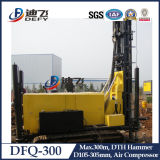 Rig dfq-300 DTH perforación de la roca y el agujero del agujero de agua Boring