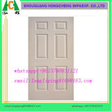 Piel interior/exterior de la decoración de HDF de la melamina de la puerta