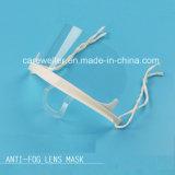 Máscara transparente Sanitaria anti-niebla de plástico (CW-CS503)