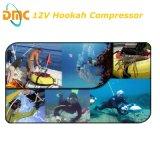 compressor livre do mergulho autónomo do petróleo 12V550W para o sistema do cachimbo de água
