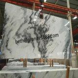 建築材料の曇った灰色の大理石の床タイル