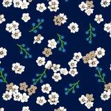 Напечатанная ткань поплина рейона поставленная Тканьем Изготовлением