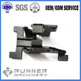 El CNC trabajado a máquina parte el metal del acero inoxidable de la hoja de la precisión que estampa piezas