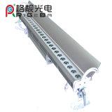 27LEDs*3W RGB/RGB 3in1/White/UV는 LED 벽 세탁기 빛을 방수 처리한다