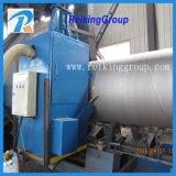 Machine de grenaillage de pipe en acier/machine/rouille de nettoyage de surface pipe en acier enlevant le matériel