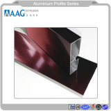 La construcción de aluminio/Metarial / Perfil de aluminio extruido y Extrusión de perfil de aluminio para muro cortina de la puerta de Windows
