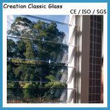 3-5mmの明確な、染められたルーバーガラスか酸は霜ガラスをエッチングした