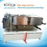 Pequeño rodillo de la máquina de capa del laboratorio a rodar (anchura del máximo 250m m) con la estufa para la batería de ion de litio (DYG-135)