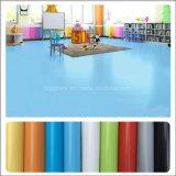 Plancher favorable à l'environnement de stratifié de vinyle de PVC de surface de lustre