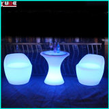 LED Bar Table Furniture Bar Chair avec télécommande