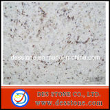 Azulejo blanco de la losa de Rose del granito hermoso (DES-GT024)