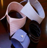 Hemd-Muffen-und Stulpe-Gebrauch Baumwolle gesponnenes schmelzbares Interlinings mit guter Qualität