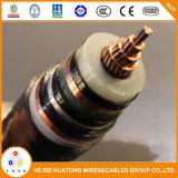 Câble haute tension Yjv32 35kv
