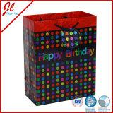 Bolsas de regalo de cumpleaños de fantasía con Holograma Film para el bebé cumpleaños